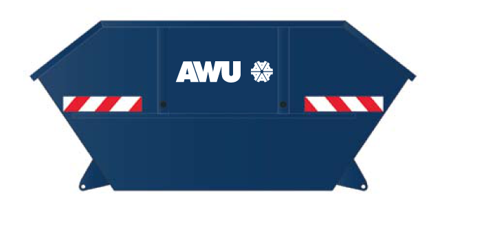 AWU OHV Absetzcontainer